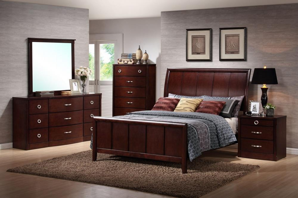 baxton studio argonne queen 5 piece wooden modern bedroom set org 965 sales price 869 - Cheap Queen Size Mattress