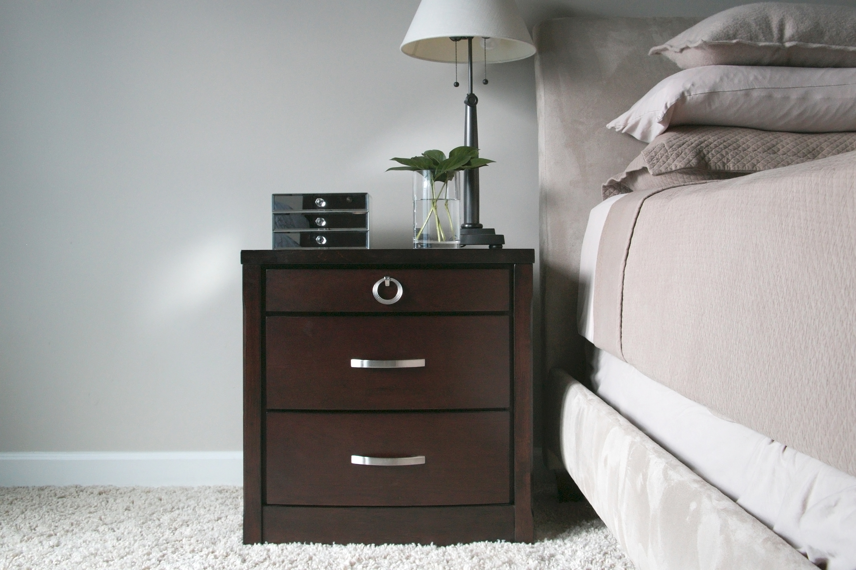 Baxton Studio Argonne Nightstand Argonne Nightstand, Wholesale Furniture,  Restaurant Furniture, Hotel Furniture,