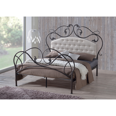 Modern Steel Bed Designs : ... design ideas design style dining room fireplace furniture garden
