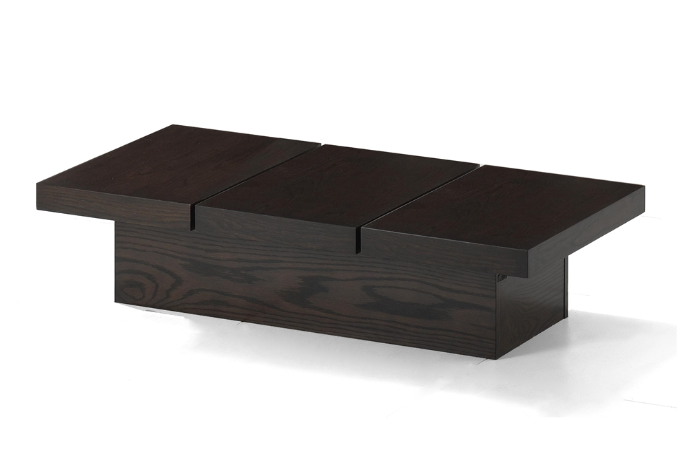 Baxton Studio Cambridge Brown Wood Modern Coffee Table With Hidden Storage Bsort126 Occ