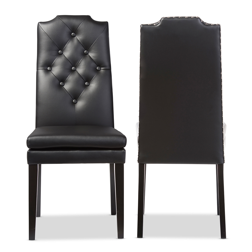 Baxton Studio Dylin Modern And Contemporary Black Faux