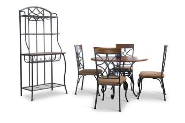 6 piece dining sets dining room furniture affordable for Affordable furniture in baker