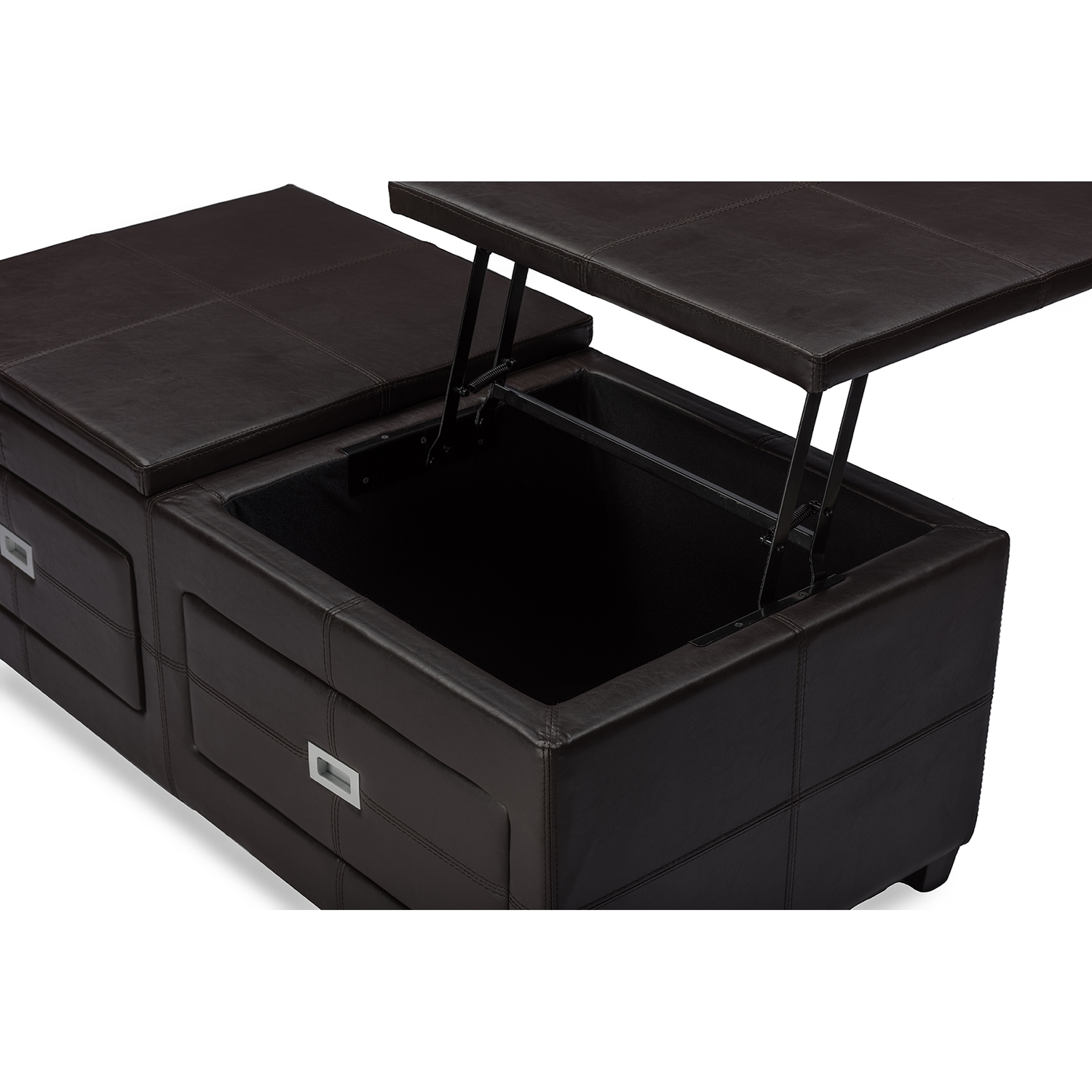 Baxton Studio Indy Modern and Contemporary Functional Lifttop