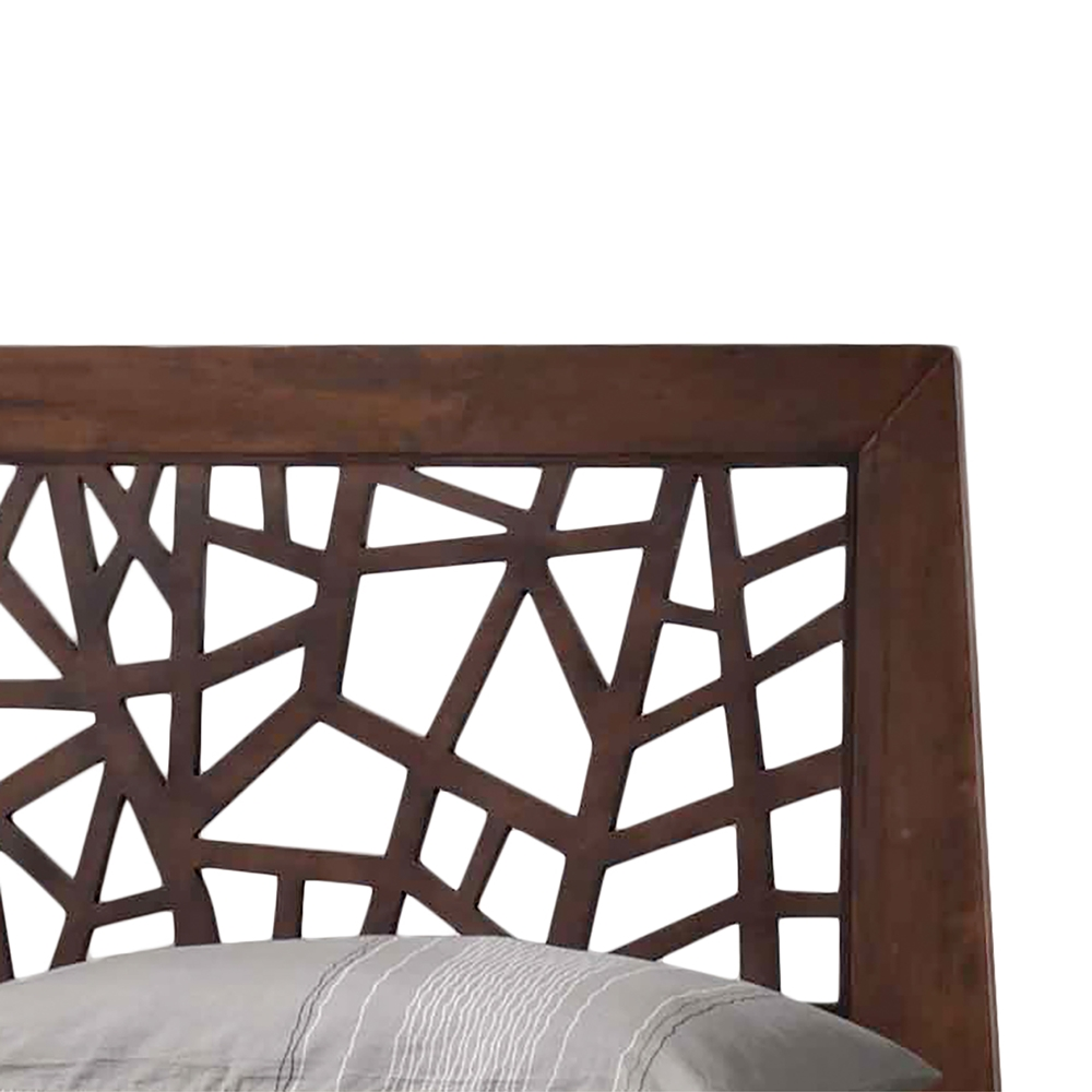 Baxton Studio Jennifer Tree Branch Inspired Modern And Contemporary Queen Size Dark Brown Solid