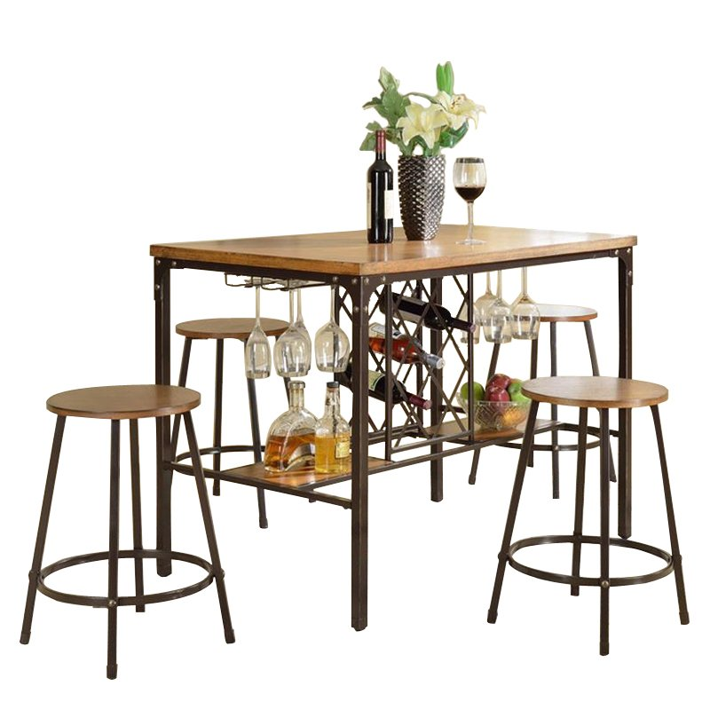 Baxton Studio Vintner Pub Set Affordable Modern Furniture In Chicago