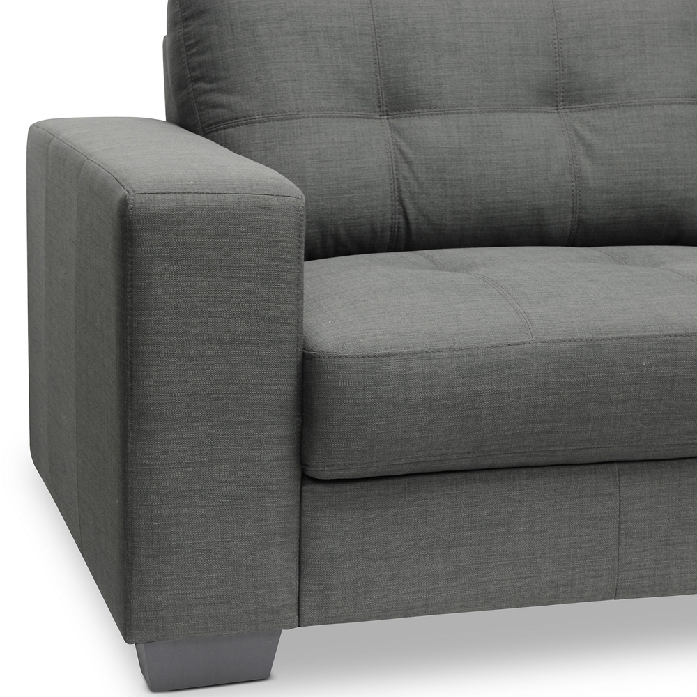 Baxton studio westerlund gray sofa set affordable modern for B m living room furniture