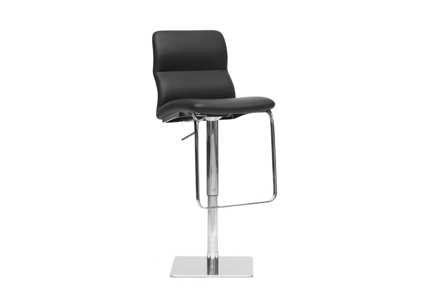 Baxton Studio Helsinki Black Modern Bar Stool Affordable Modern Furniture In Chicago