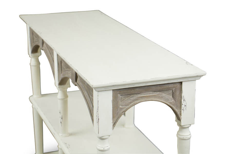 Baxton Studiotouraine Wood Traditional French Accent