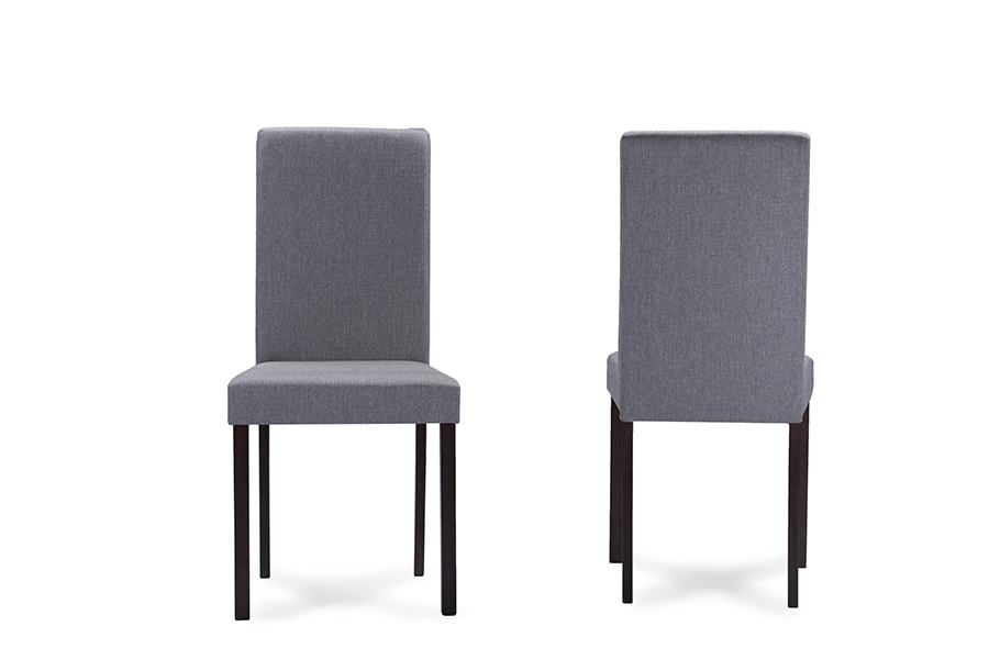 Baxton Studio Andrew Contemporary Espresso Wood Grey  : Andrew20Dining20Chair Grey20Fabric2 from www.baxtonstudiooutlet.com size 1000 x 667 jpeg 116kB
