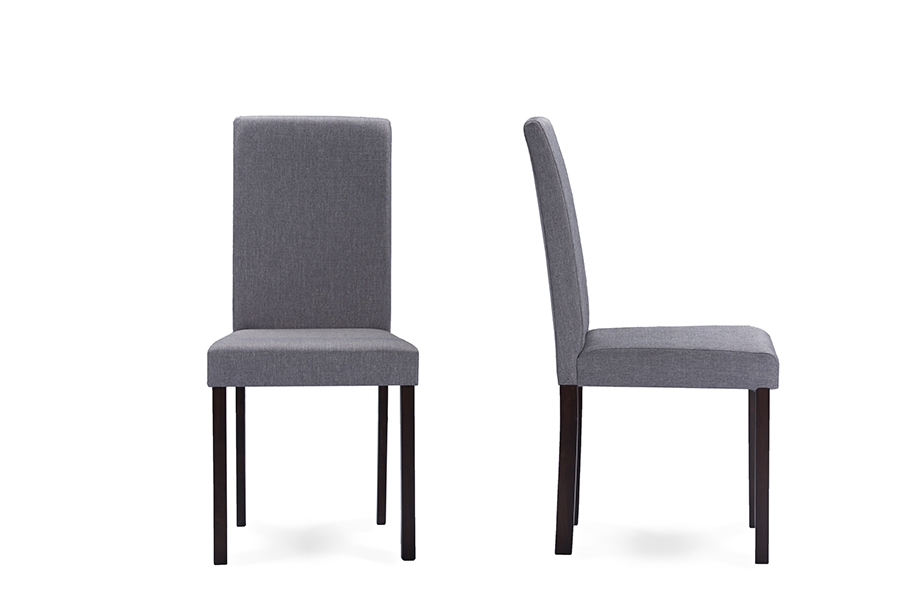 Baxton Studio Andrew Contemporary Espresso Wood Grey  : Andrew20Dining20Chair Grey20Fabric3 from www.baxtonstudiooutlet.com size 1000 x 667 jpeg 97kB