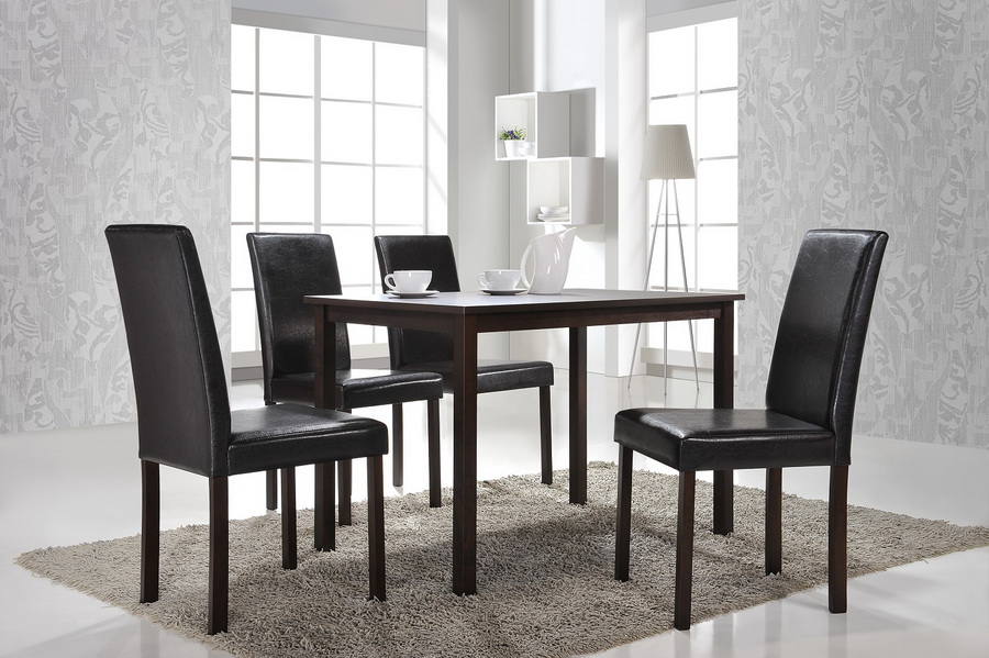 Baxton studio andrew modern dining chair set of 2 for Public dining room 50 off