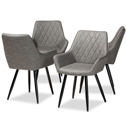 Dining Chairs Dining Room Furniture Affordable Modern Furniture Baxton Studio Outlet