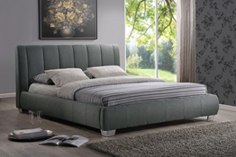 Baxton Studio Marzenia Wood Contemporary Queen-Size Bed Affordable modern furniture in Chicago, Marzenia Wood Contemporary Queen-Size Bed, Bedroom Furniture Chicago