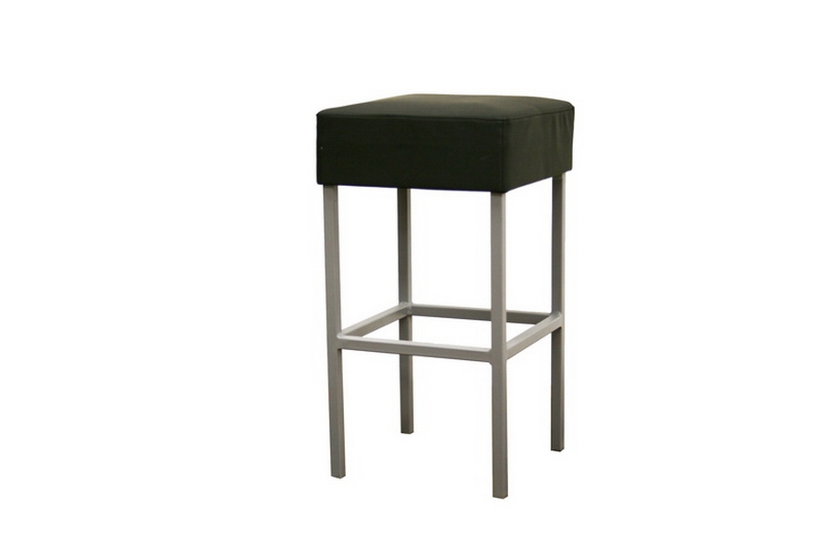 Andante Black Faux Leather Counter Stool Affordable