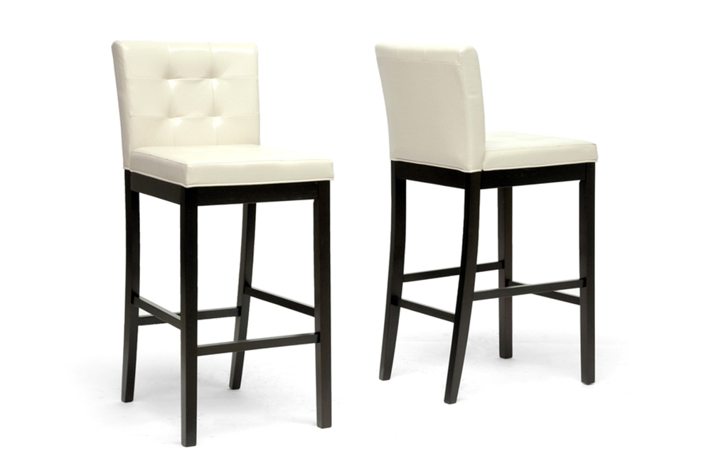 Baxton Studio Prospect Cream Modern Bar Stool Affordable Modern Furniture In Chicago