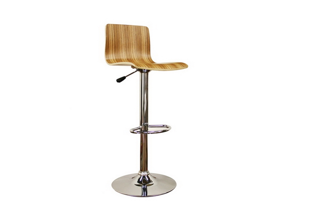 Lidell Wood Bar Stool Affordable Modern Furniture In Chicago