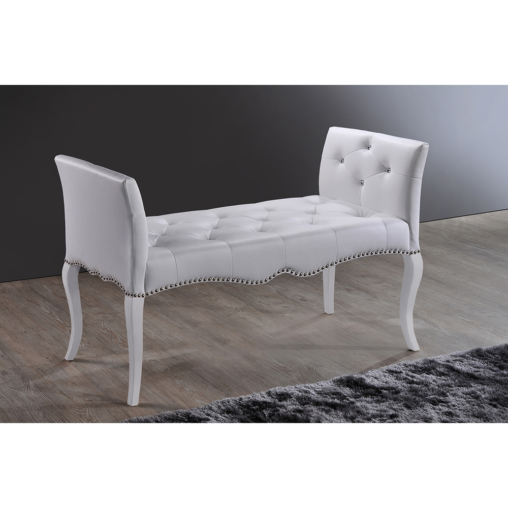 Bbt Stock Quote: Baxton Studio Kristy Modern And Contemporary White Faux