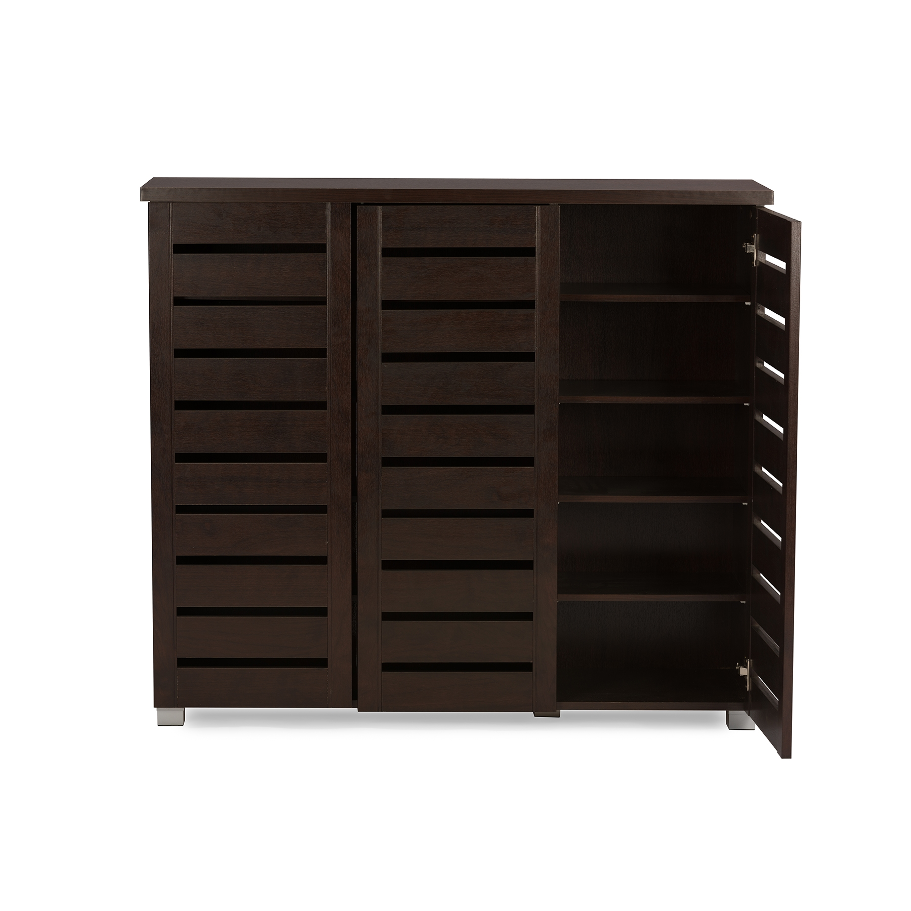shoe storage furniture for entryway. baxton studio adalwin modern and contemporary 3door dark brown wooden entryway shoes storage cabinet shoe furniture for p