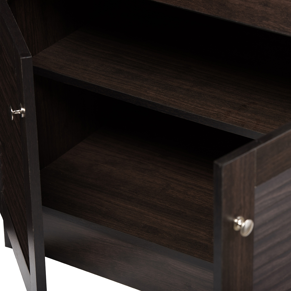 baxton studio agni modern and contemporary dark brown buffet and baxton studio agni modern and contemporary dark brown buffet and hutch kitchen cabinet bsodr 883701