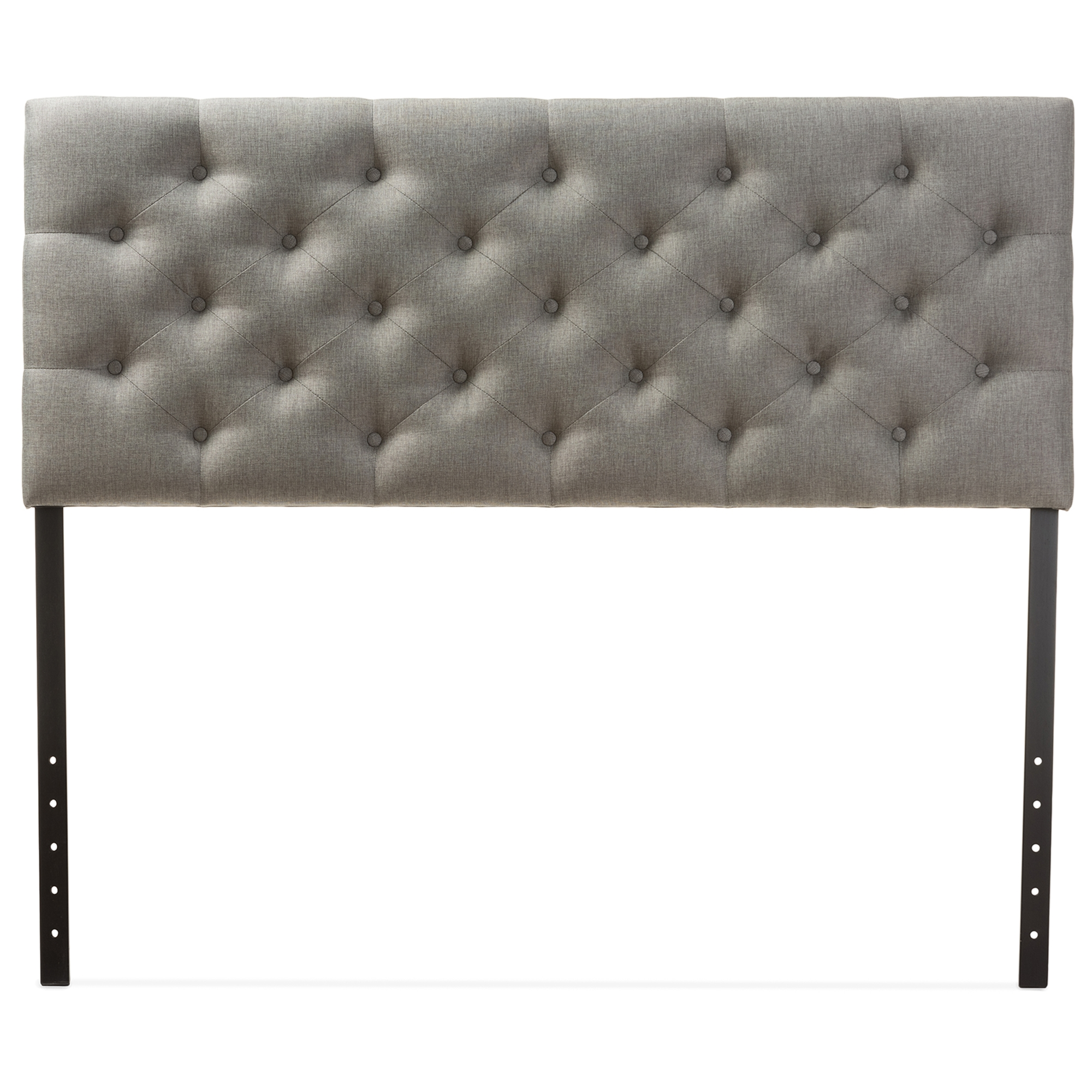 by adjustable shipping fabric queen today overstock free tufted bolton product headboard home christopher full grey knight garden