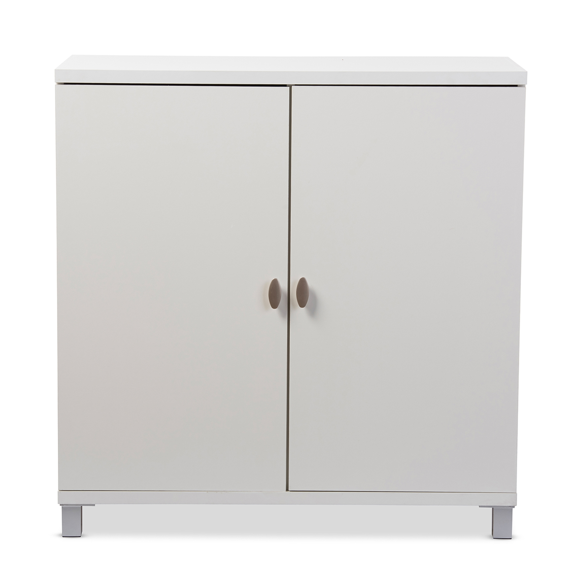 Baxton Studio Marcy Modern and Contemporary White Wood Entryway ...