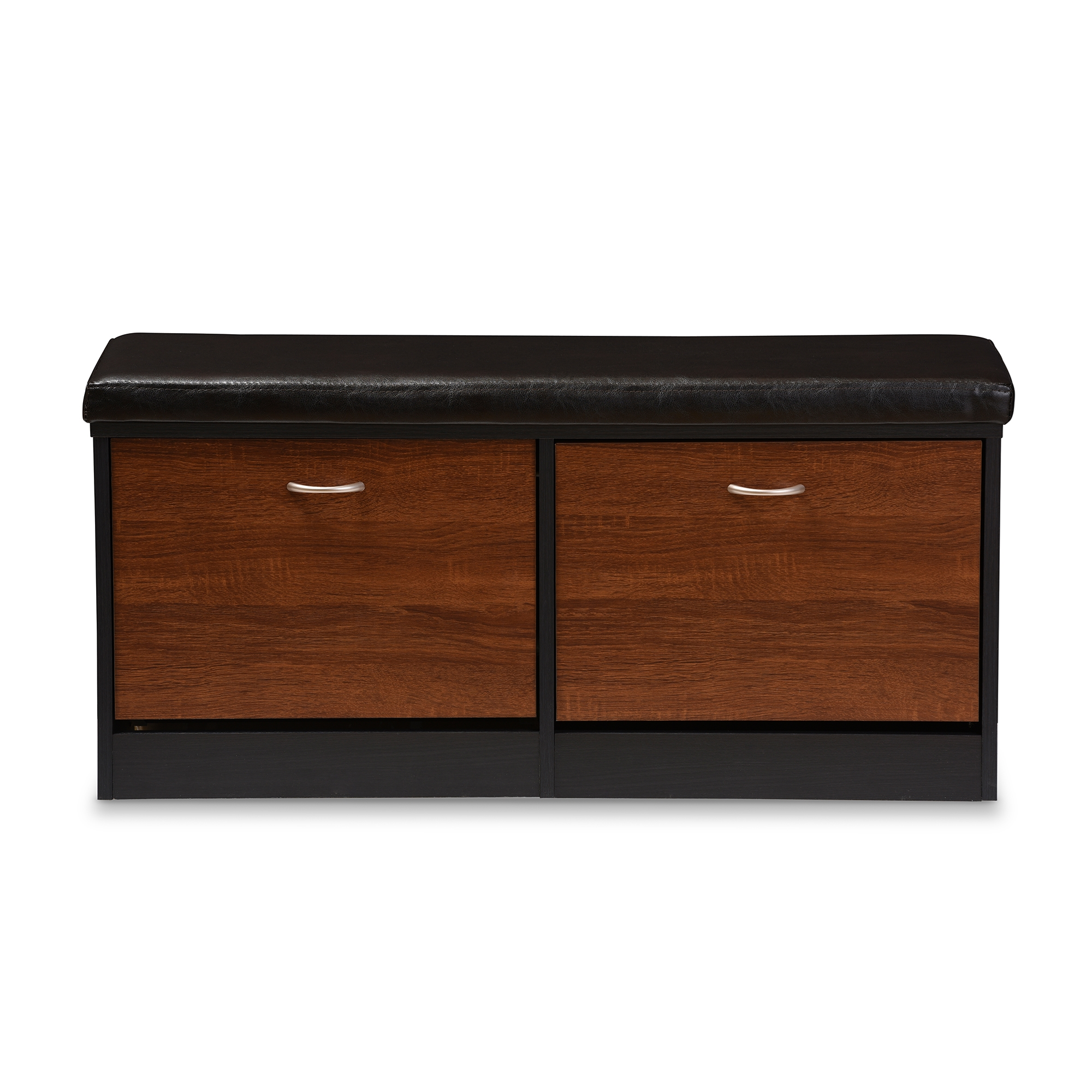 Baxton Studio Foley Modern and Contemporary 2 tone Dark Brown and