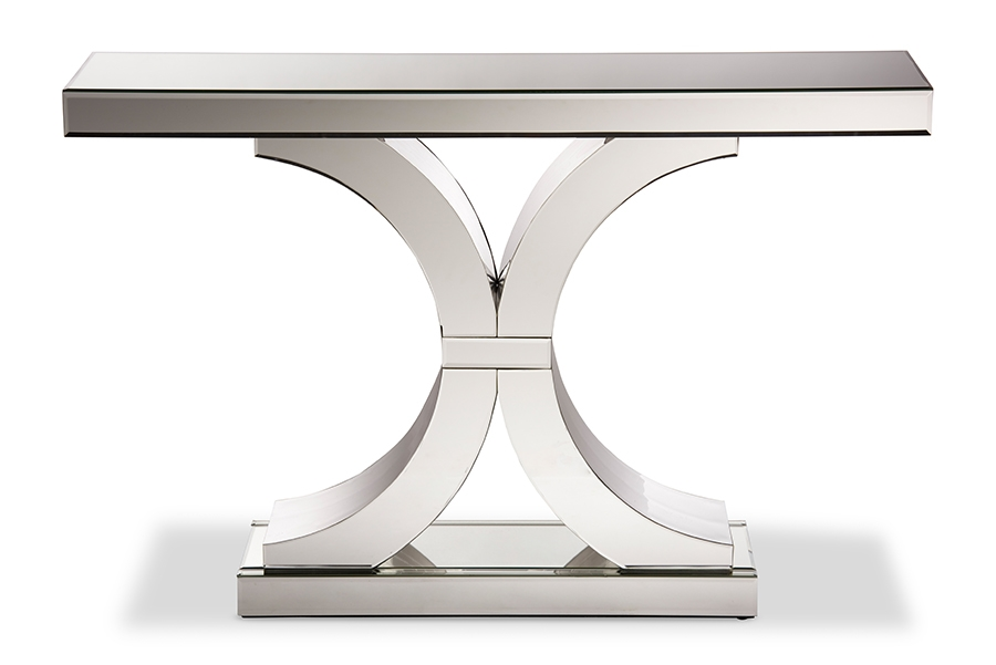 Perfect Mountrose Modern And Contemporary Hollywood Regency Glamour Style Large  Mirrored Console Table   BSORS1459 ...