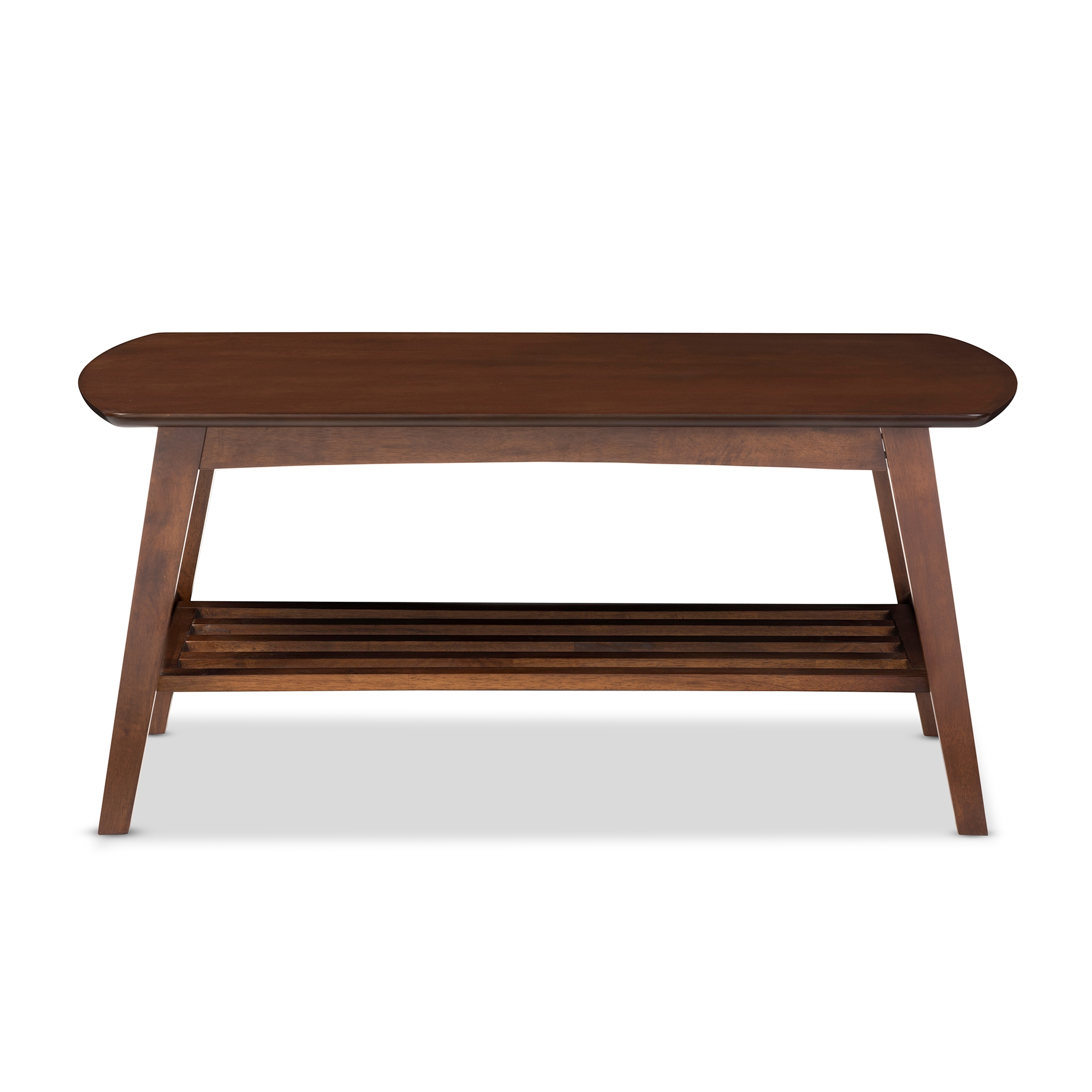 Superieur Baxton Studio Sacramento Mid Century Modern Scandinavian Style Dark Walnut Coffee  Table