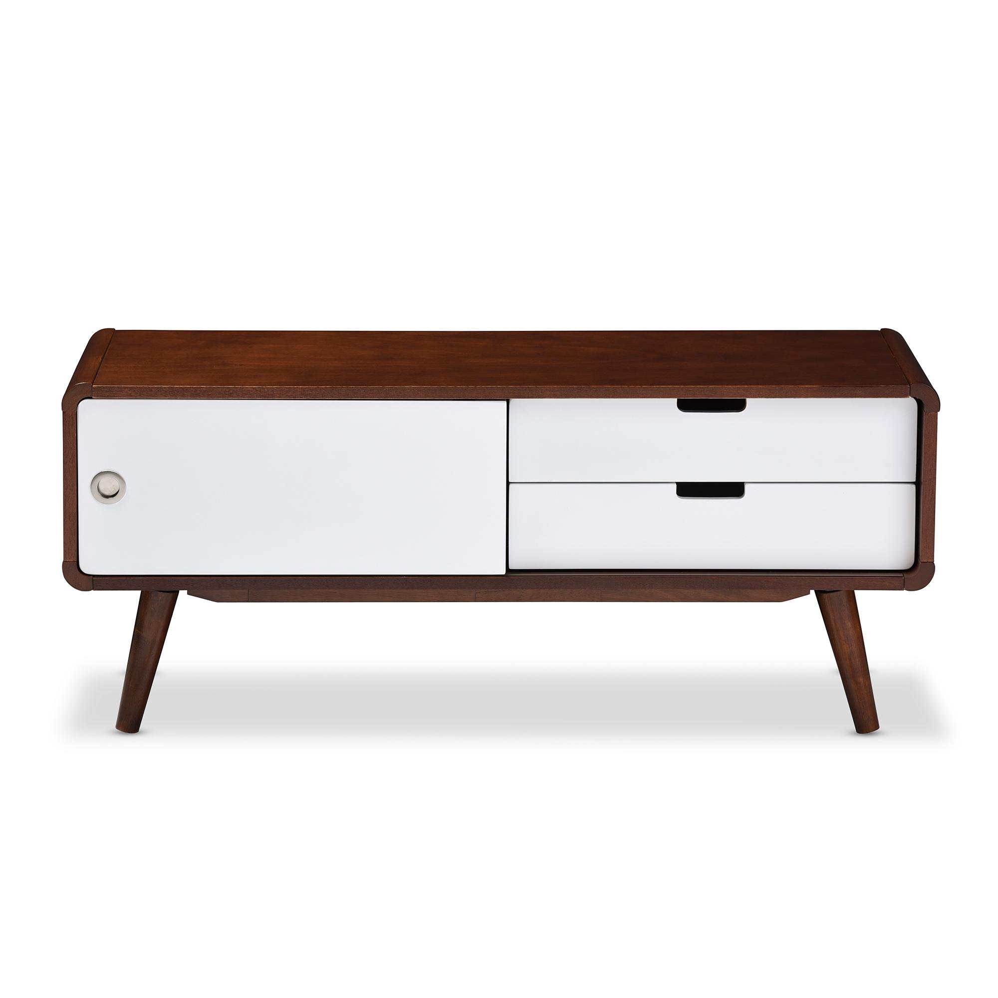 inexpensive mid century modern furniture. baxton studio armani midcentury modern dark walnut and white twotone finish 2 inexpensive mid century furniture t