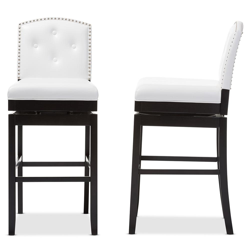 Bar Furniture By Baxton Studios: Baxton Studio Ginaro Modern And Contemporary White Faux