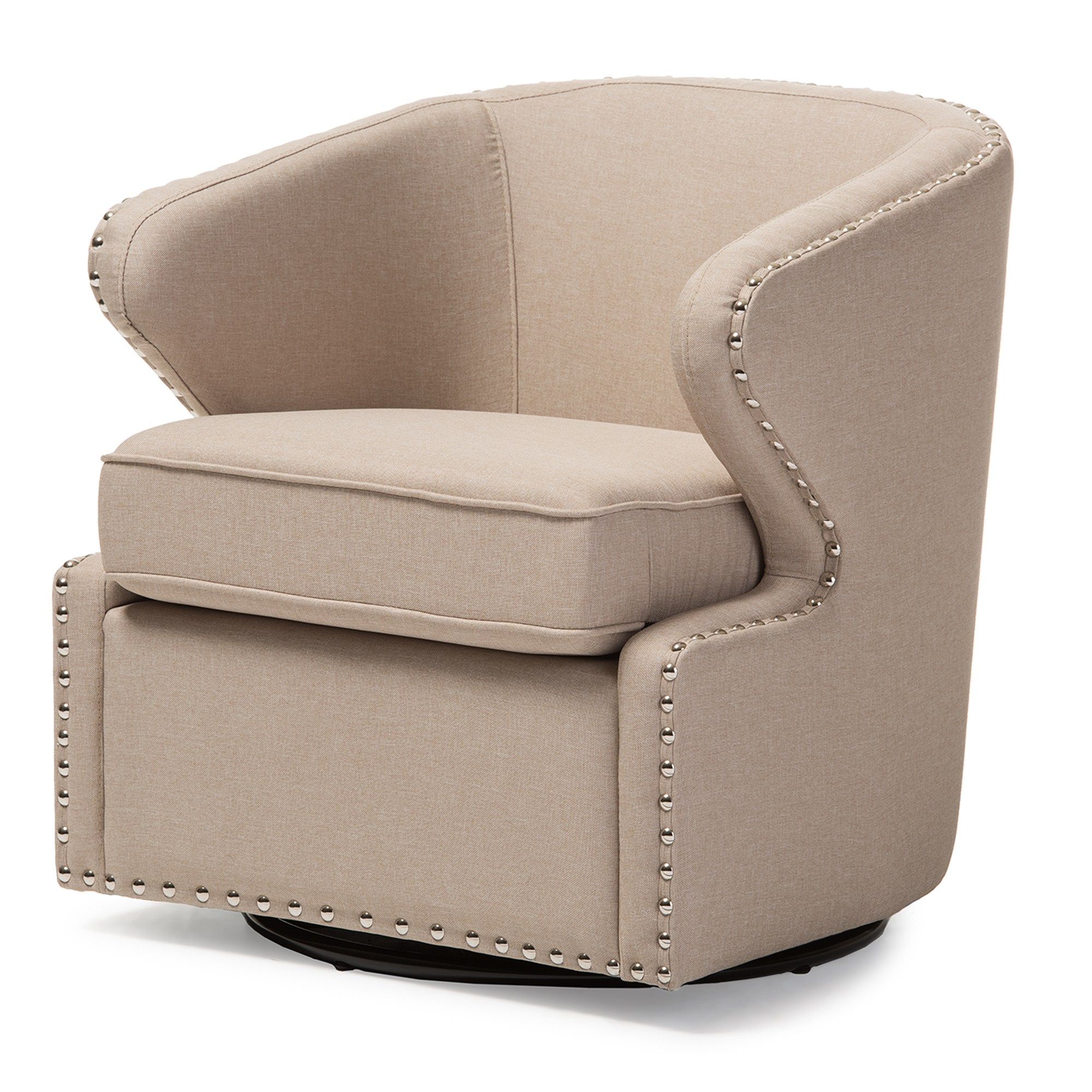Isaac Swivel Chair Slipcover Nolan Floral Mod Side Chair  : DB 203 Beige 2 from algarveglobal.com size 2000 x 2000 jpeg 1895kB