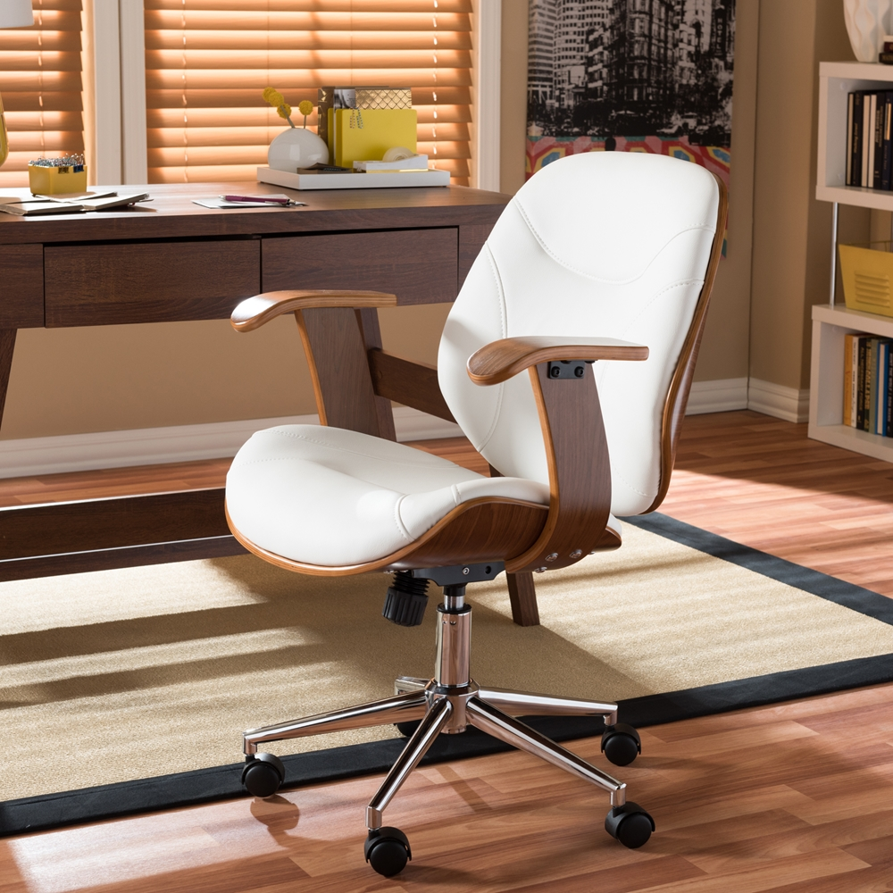 Baxton Studio Rathburn Modern And Contemporary White And