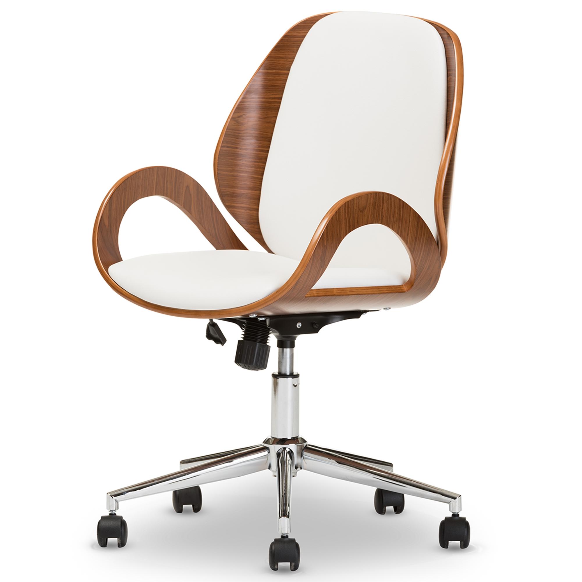 white walnut office furniture. white walnut office furniture baxton studio watson modern and contemporary chair bsosdm22255 t