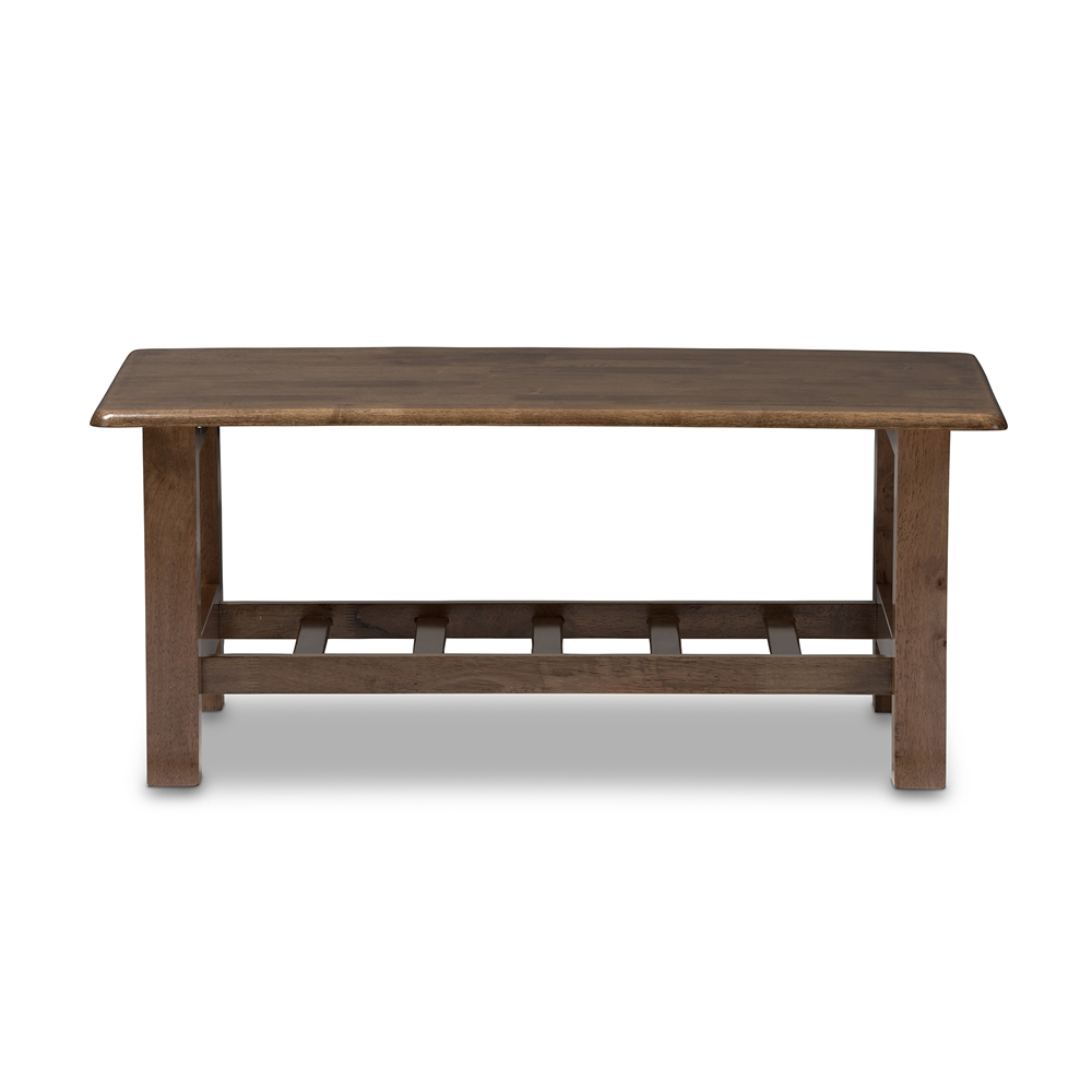 Baxton studio charlotte modern classic mission style walnut brown baxton studio charlotte modern classic mission style walnut brown wood coffee table geotapseo Image collections