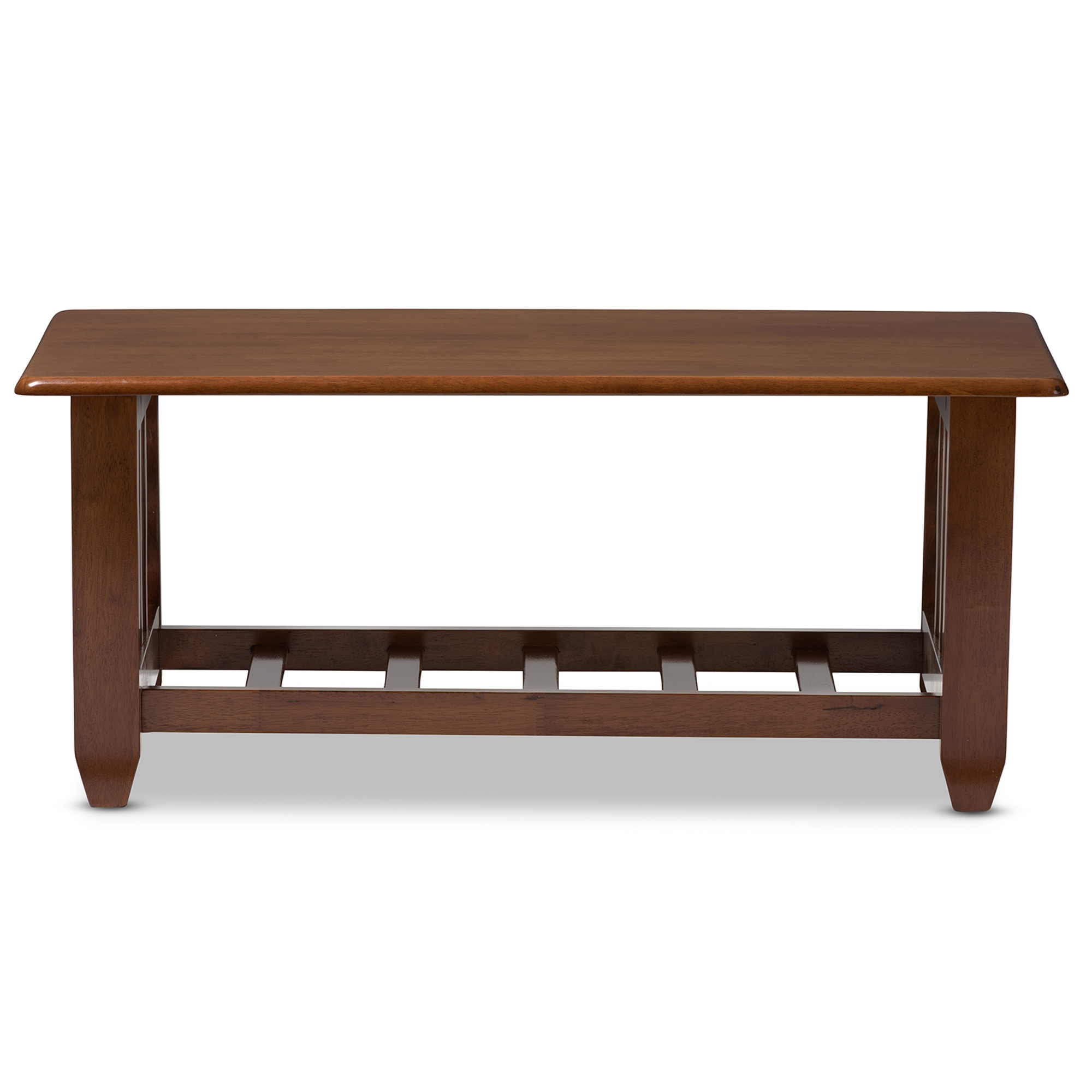 Merveilleux Baxton Studio Larissa Modern Classic Mission Style Cherry Finished Brown  Wood Living Room Occasional Coffee Table