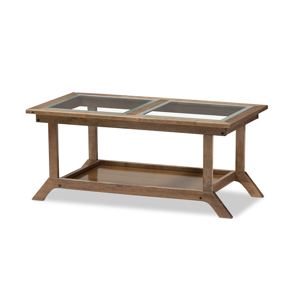 Coffee Table Contemporary Walnut Oval Seventy Wood