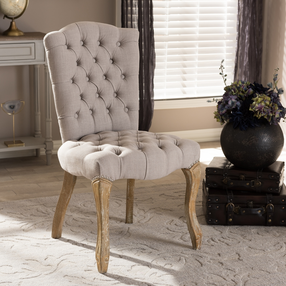 Provincial Living Room Furniture Baxton Studio Clemence French Provincial Inspired Weathered Oak