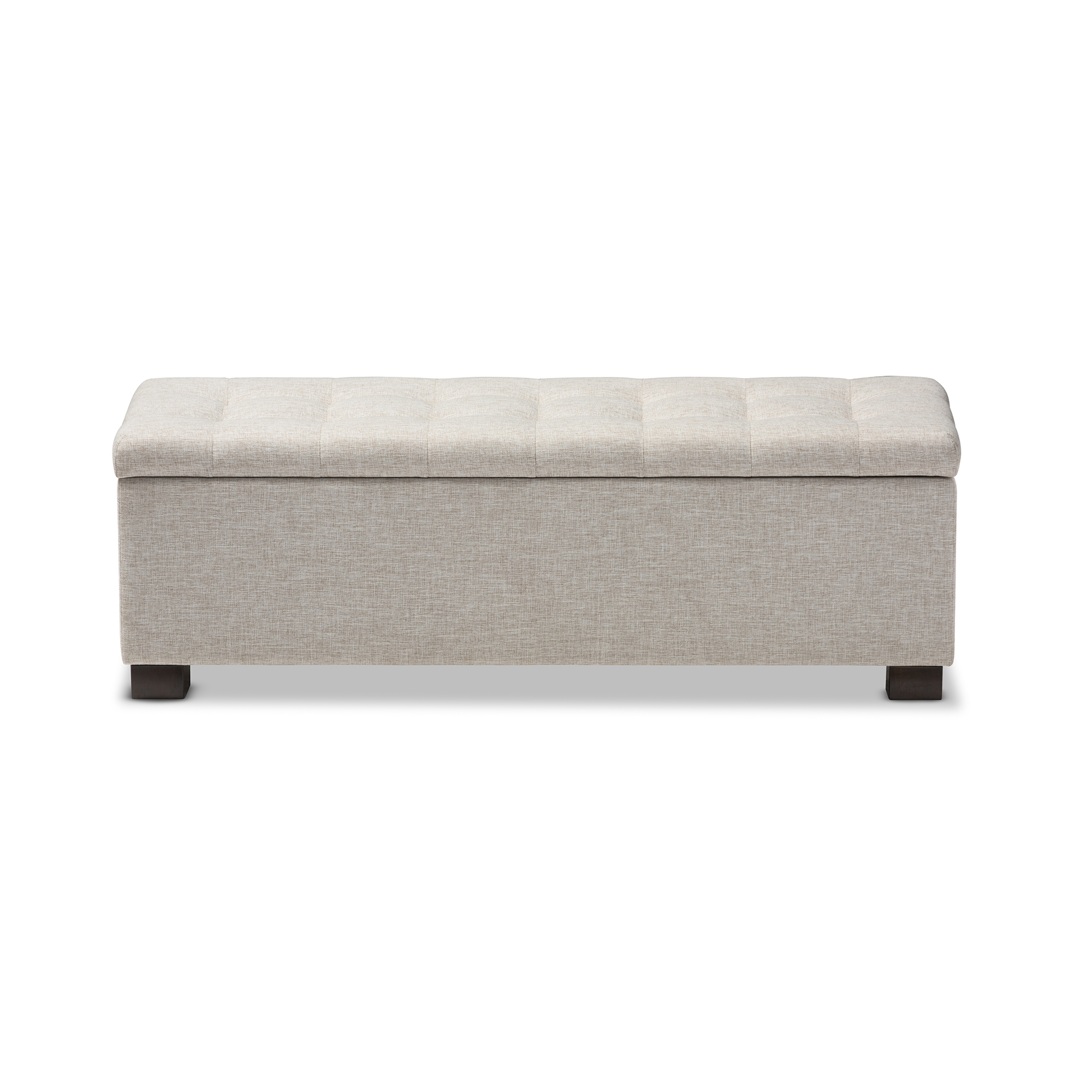 Baxton Studio Roanoke Modern and Contemporary Beige Fabric