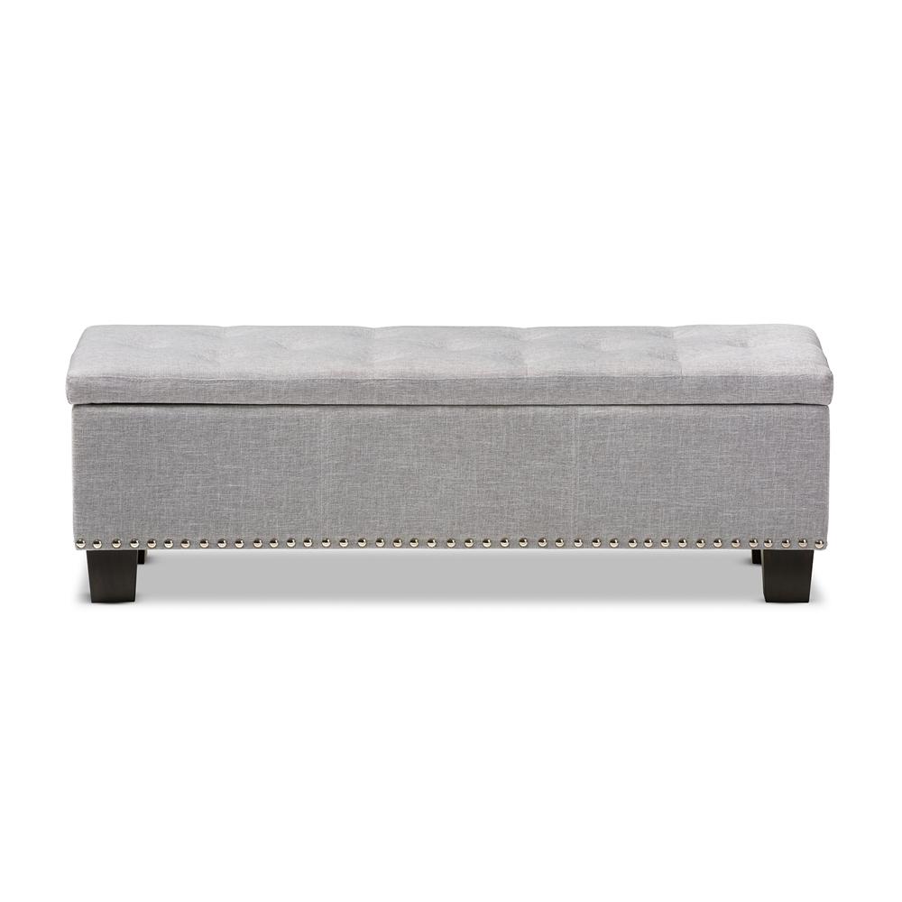 baxton studio hannah modern and contemporary grayish beige fabric  -  baxton studio hannah modern and contemporary grayish beige fabricupholstered buttontufting storage ottoman bench