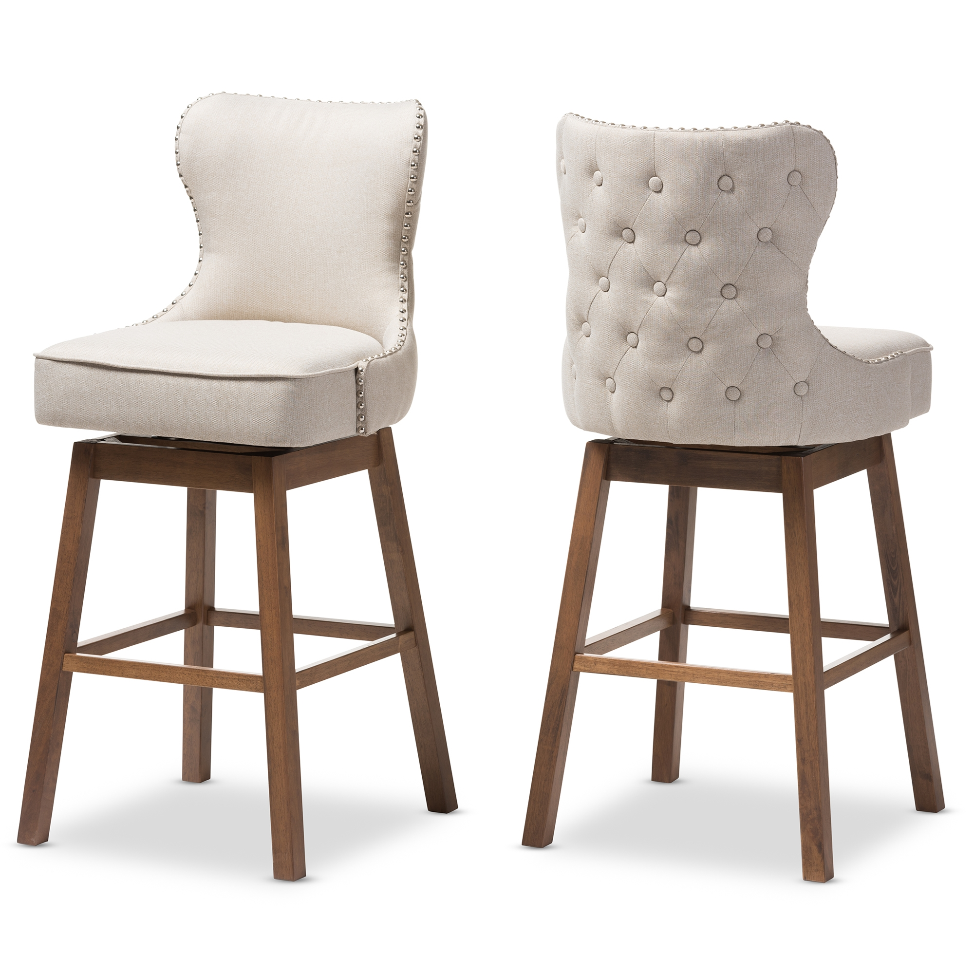 Image Result For Wood And Leather Bar Stools
