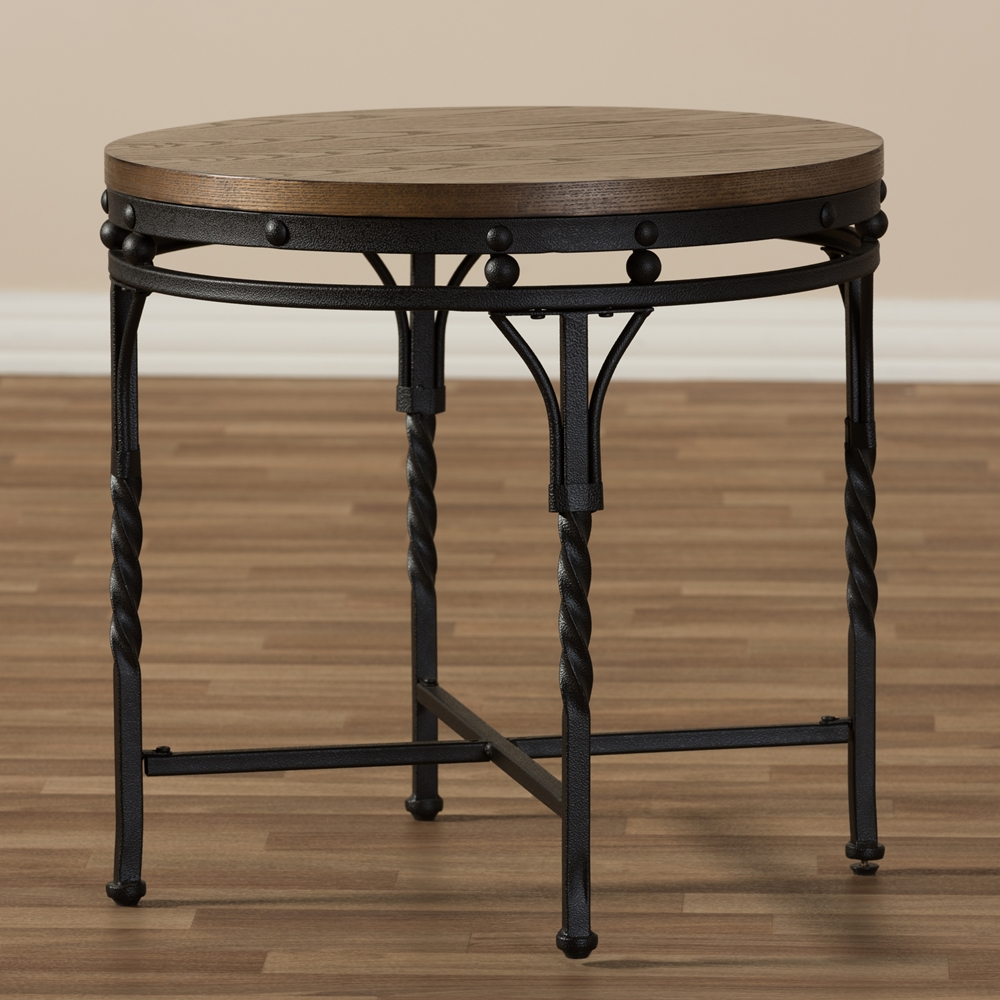 Bronze Industrial Coffee Table: Baxton Studio Austin Vintage Industrial Antique Bronze
