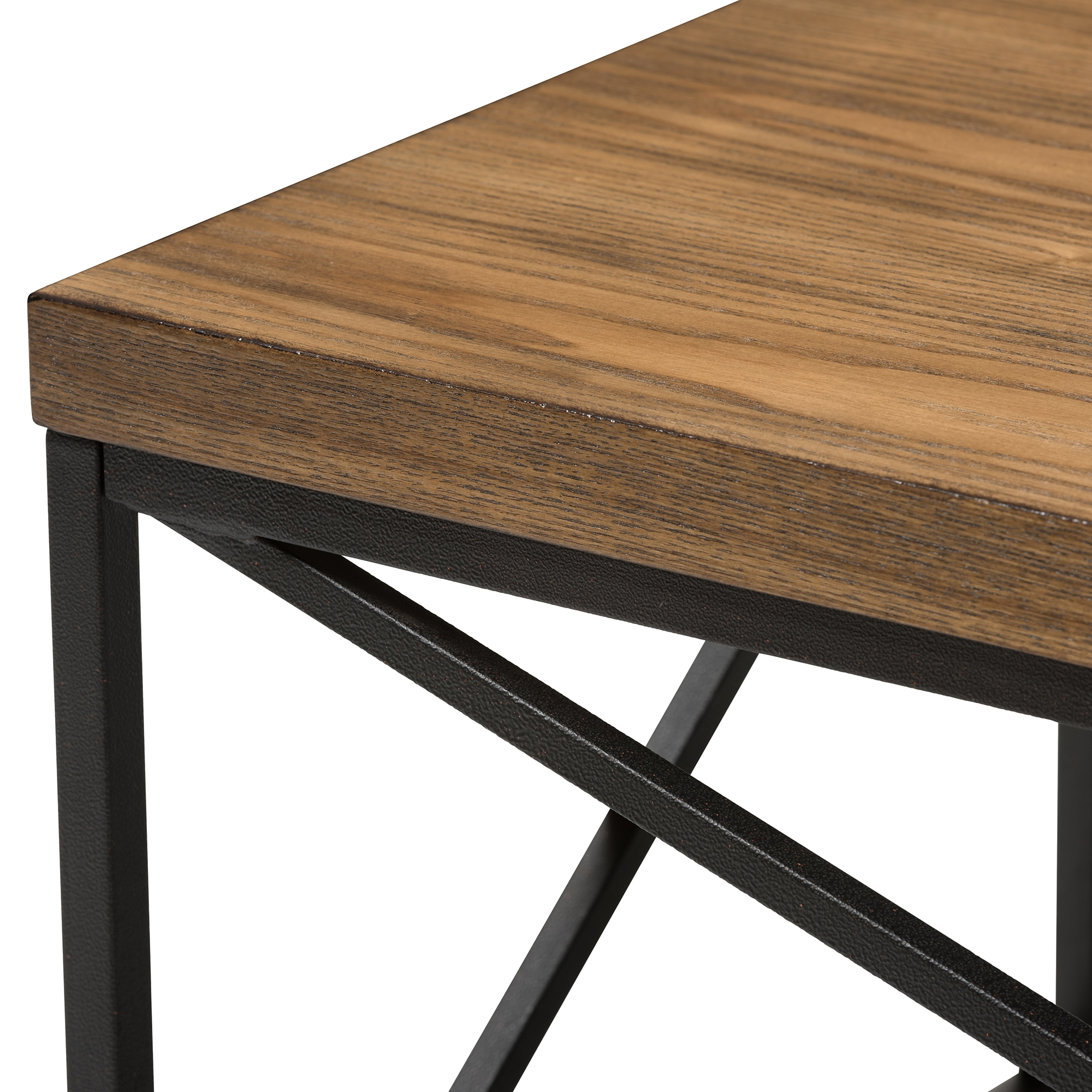 ... Baxton Studio Holden Vintage Industrial Antique Bronze Coffee Cocktail  Table   BSOYLX 2692 CT ...