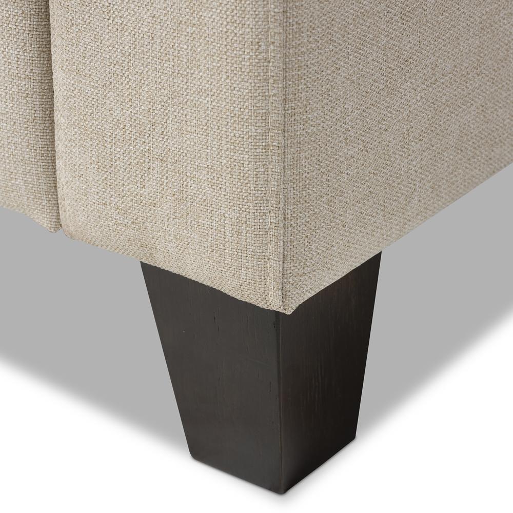 Baxton Studio Arcadia Modern And Contemporary Grey Fabric: Baxton Studio Arcadia Modern And Contemporary Light Beige