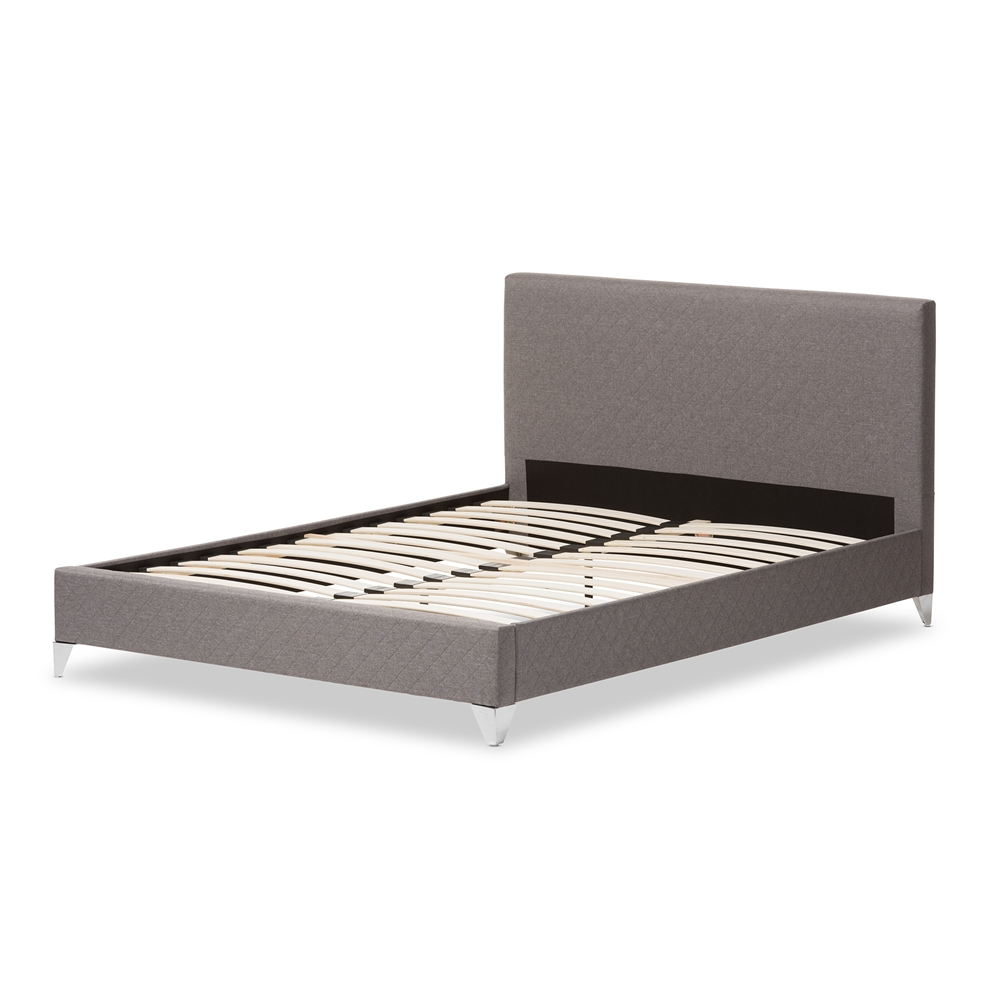 Contemporary Platform Bed Frame Worth Cal King Modern