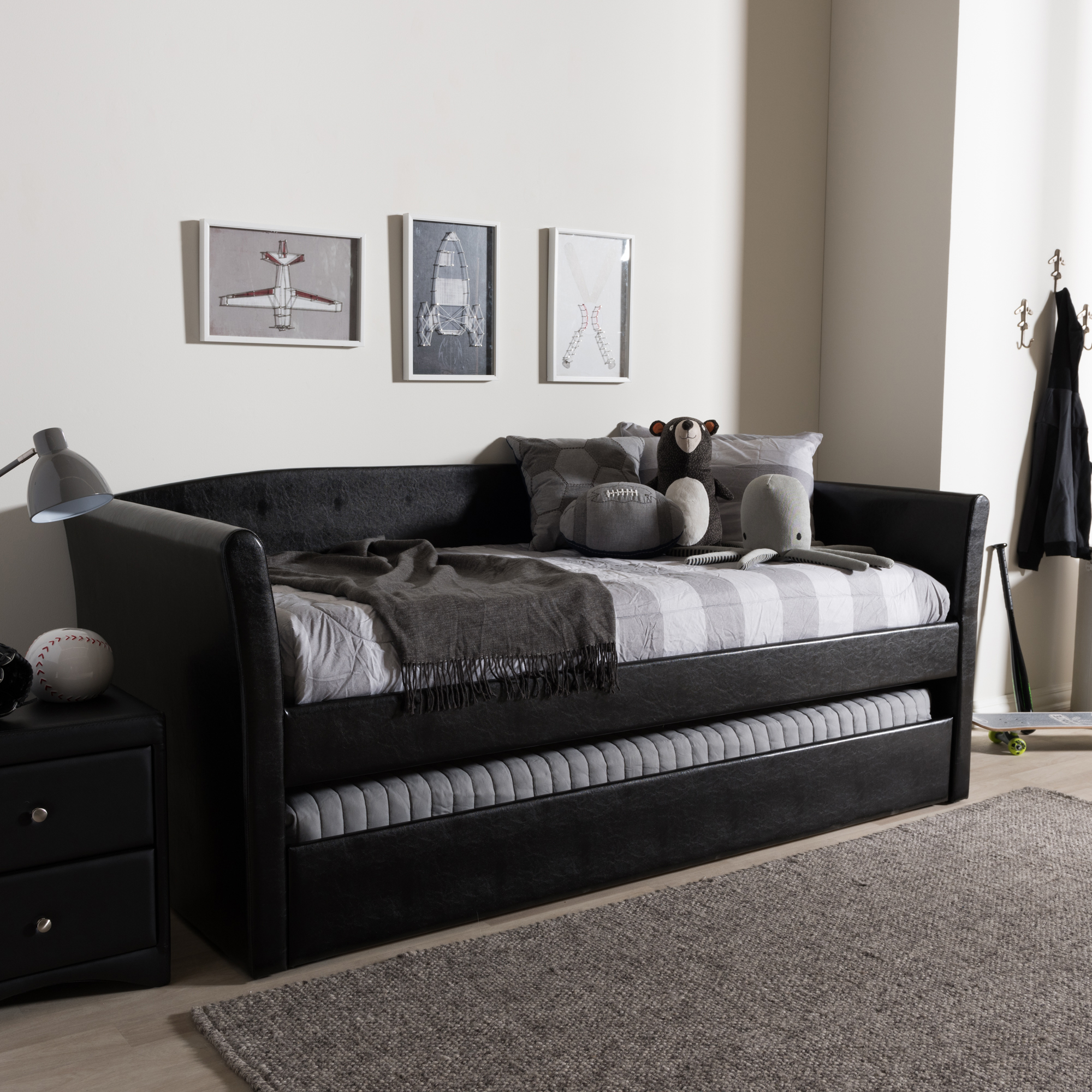 Modern Daybed Leather