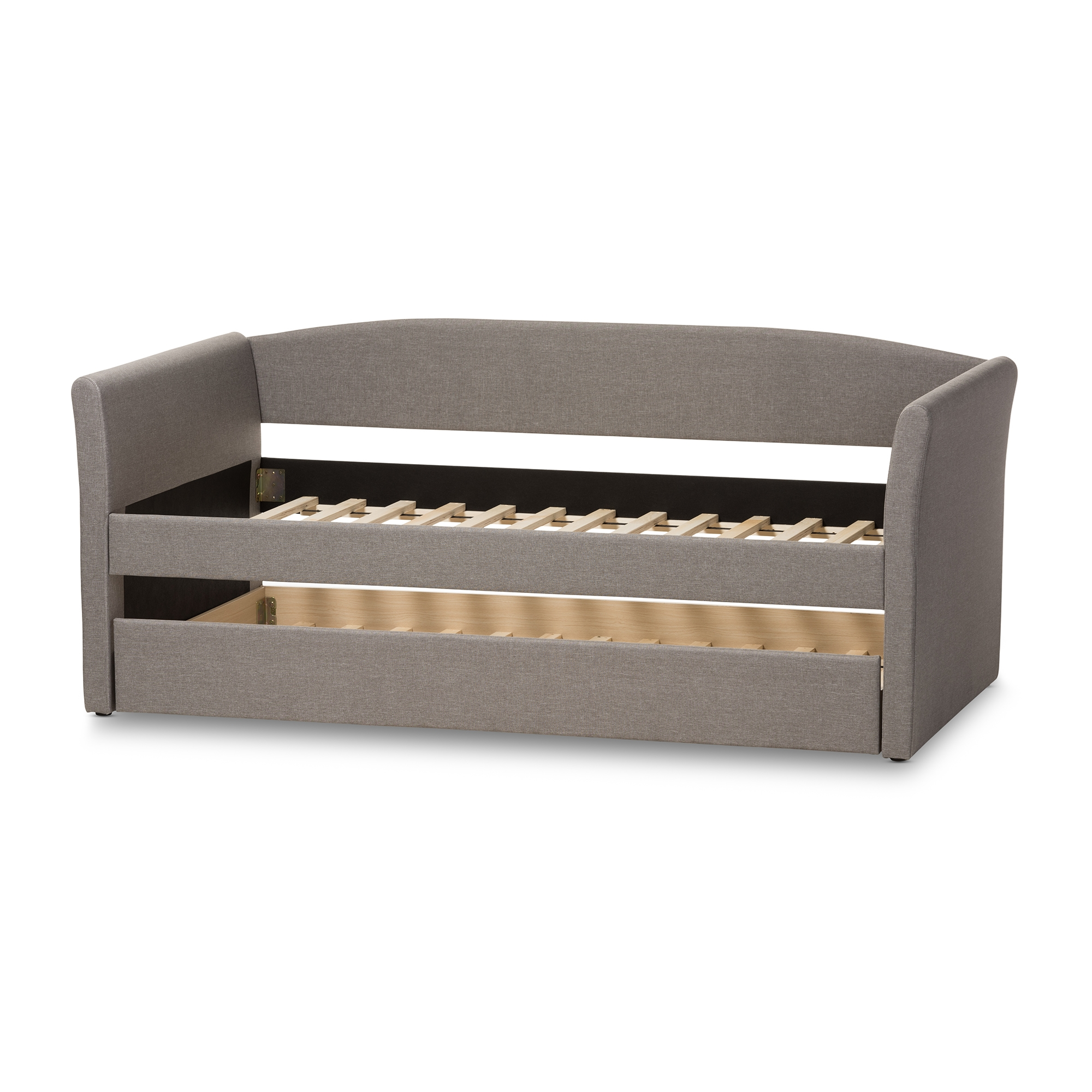 Interesting Modern Daybed Leather Camino And Contemporary Grey Fabric On Design Ideas
