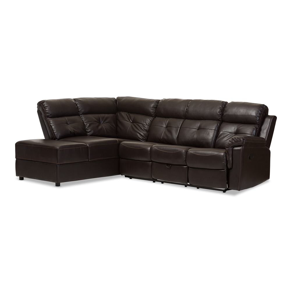 Modern sofa recliner modern recliner sofa art galleries in reclining home thesofa Contemporary leather sofa