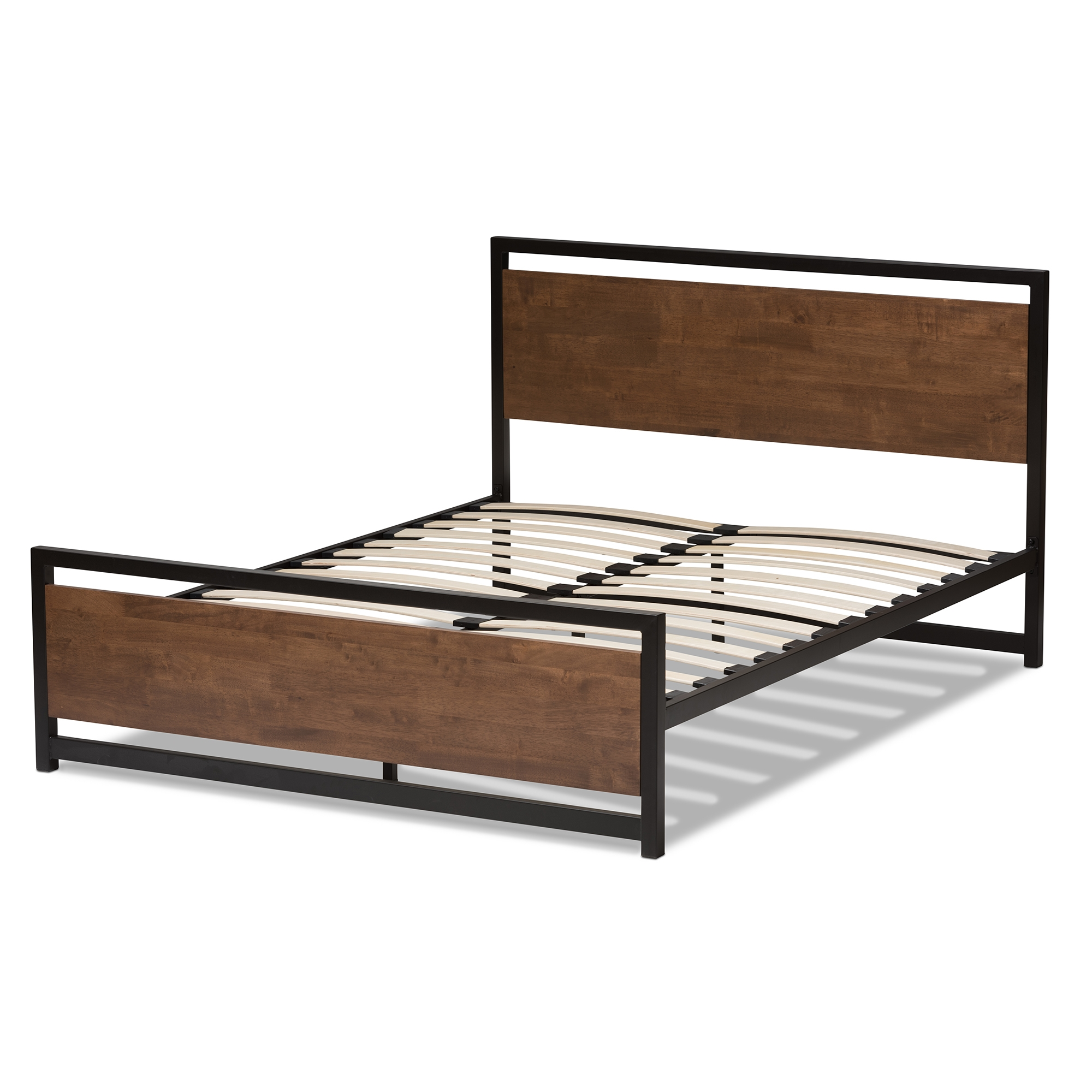 Iron And Wood Bed Frames Interesting Ravishing Queen Size