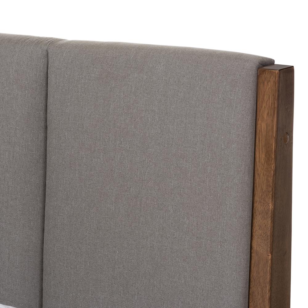 Baxton Studio Ember Mid Century Light Grey Fabric and  : SW8063 Light Grey Walnut M7 Queen 4 from www.baxtonstudiooutlet.com size 1000 x 1000 jpeg 781kB