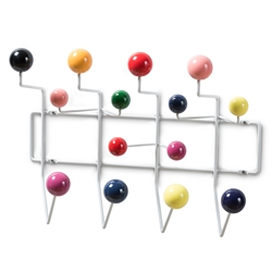 Baxton Studio Penny Mid-Century Modern Multi-Colored Coat Hanger